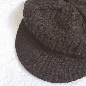 echo cable knit hat